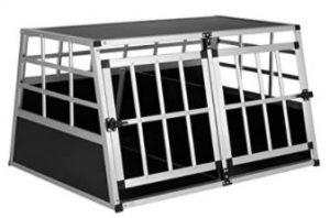 cage de transport métallique grand format
