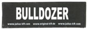 étiquette pour harnais pour chien